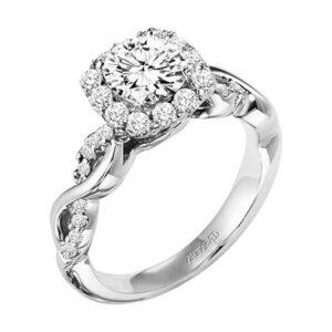 Bella ArtCarved Engagement Ring 31-V320E