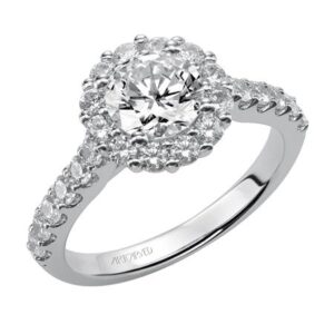 Yolanda ArtCarved Engagement Ring 31-V438E