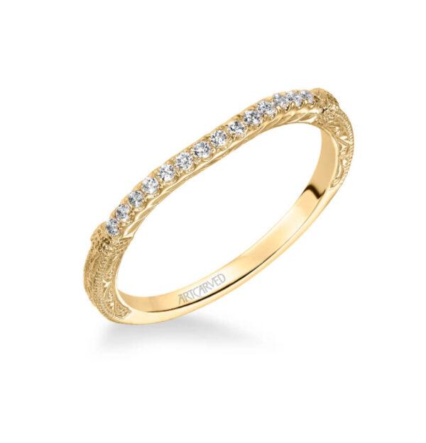 Angelina ArtCarved Diamond Wedding Ring 31-V494L
