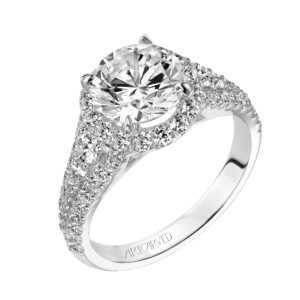 Wanda ArtCarved Engagement Ring 31-V506E