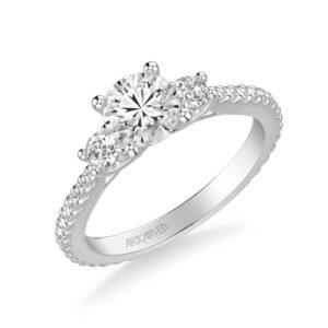 Jill ArtCarved Diamond Engagement Ring 31-V751E