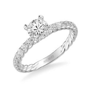 Wren ArtCarved Engagement Ring 31-V755E