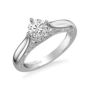 Gayla ArtCarved Engagement Ring 31-V759E