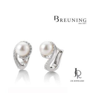 Breuning Pearl Earrings 06/60806