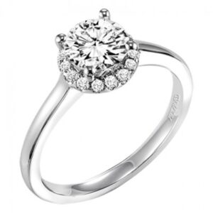 Allison ArtCarved Engagement Ring 31-V325E