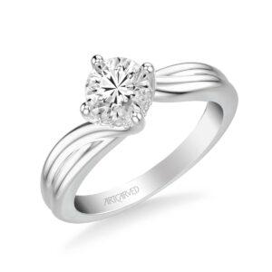 Whitney ArtCarved Engagement Ring 31-V303E
