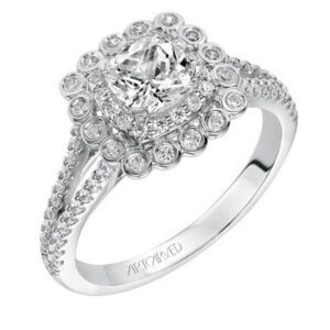 Ciana ArtCarved Diamond Engagement Ring 31-V564E