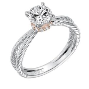 Caitlin ArtCarved Engagement Ring 31-V569E