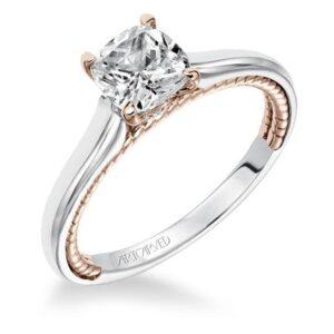 Cameron ArtCarved Engagement Ring 31-V589E