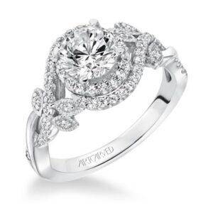 Zara ArtCarved Engagement Ring 31-V601E