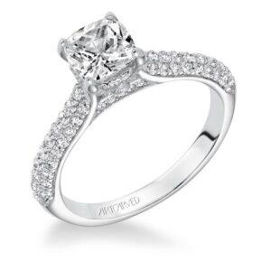 Blair ArtCarved Engagement Ring 31-V606E
