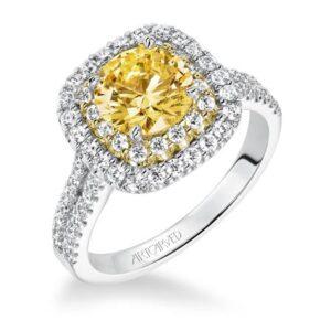 Marigold ArtCarved Engagement Ring 31-V611E