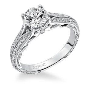 Zelma ArtCarved Engagement Ring 31-V620E