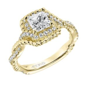 Briana ArtCarved Diamond Engagement Ring 31-V703E