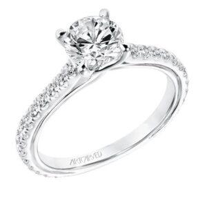 Carmen ArtCarved Engagement Ring 31-V706E