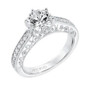 Cossette ArtCarved Engagement Ring 31-V724E