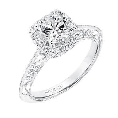 Audriana ArtCarved Engagement Ring 31-V725E
