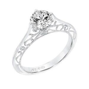 Laurette ArtCarved Engagement Ring 31-V726E