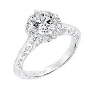Isador ArtCarved Engagement Ring 31-V729E