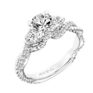 Danica ArtCarved Diamond Engagement Ring 31-V757E