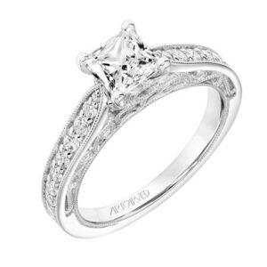 Blanche ArtCarved Engagement Ring 31-V760E