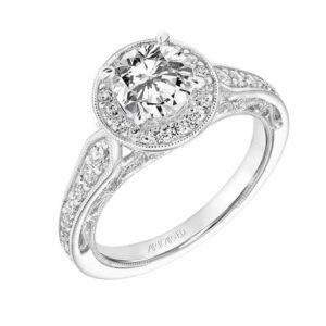 Dolores ArtCarved Engagement Ring 31-V763E