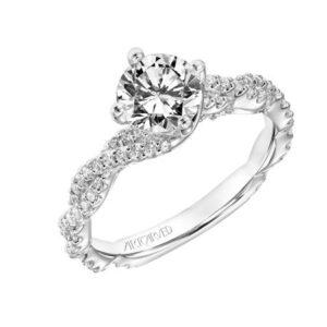 Becca ArtCarved Engagement Ring 31-V772E