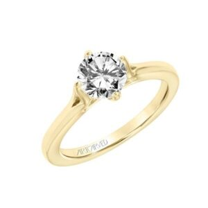 Buttercup ArtCarved Engagement Ring 31-V777E