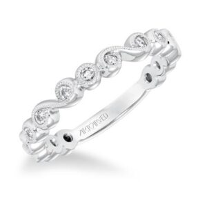 ArtCarved Diamond Stackable Band 33-V9161W