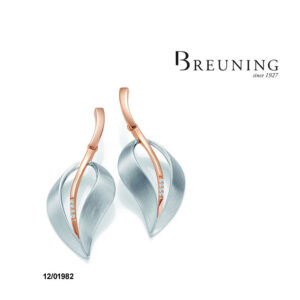 Breuning Sterling Earrings 12/01982