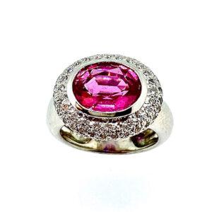 Pink Tourmaline Ring CR02820