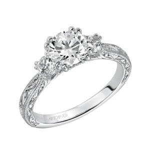 Anabelle ArtCarved Diamond Engagement Ring 31-V433E