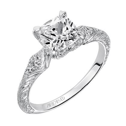 Angel ArtCarved Engagement Ring 31-V489E