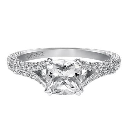 Angelina ArtCarved Engagement Ring 31-V494E