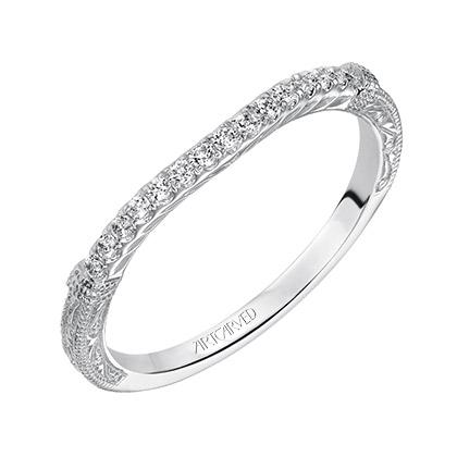 Angelina ArtCarved Wedding Ring 31-V494L