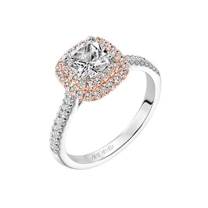 Avril ArtCarved Engagement Ring 31-V651ERR
