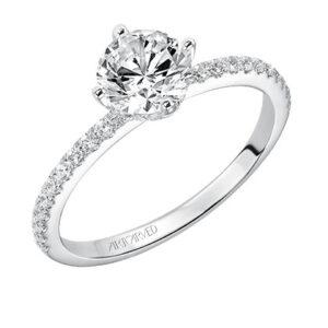 Ashlyn ArtCarved Diamond Engagement Ring 31-V543E