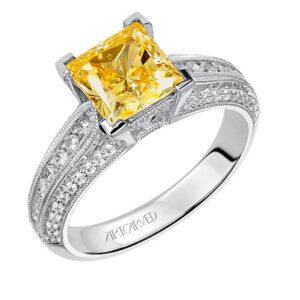 Devyn ArtCarved Engagement Ring 31-V538E