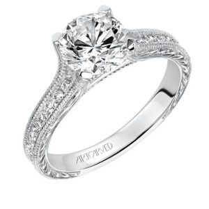 Zoya ArtCarved Engagement Ring 31-V511E